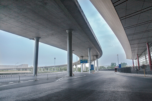 Airport viaduct