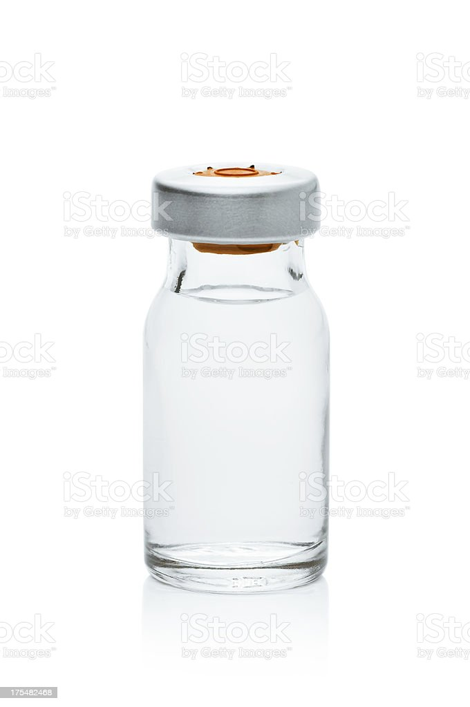 Vial stock photo