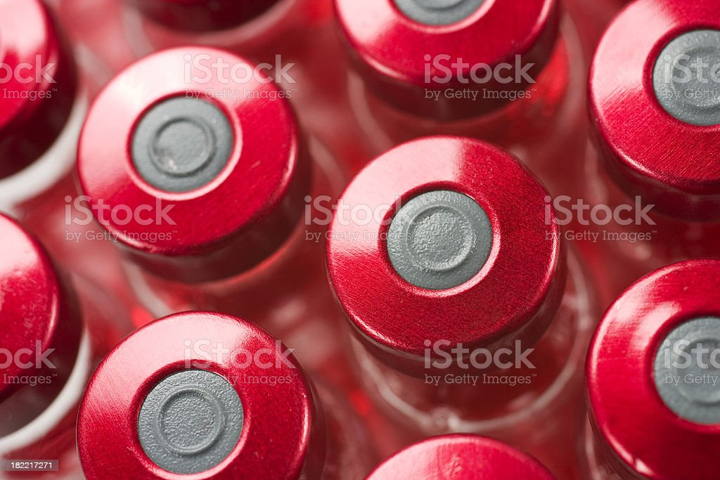 vials of vaccines royalty-free stock photo