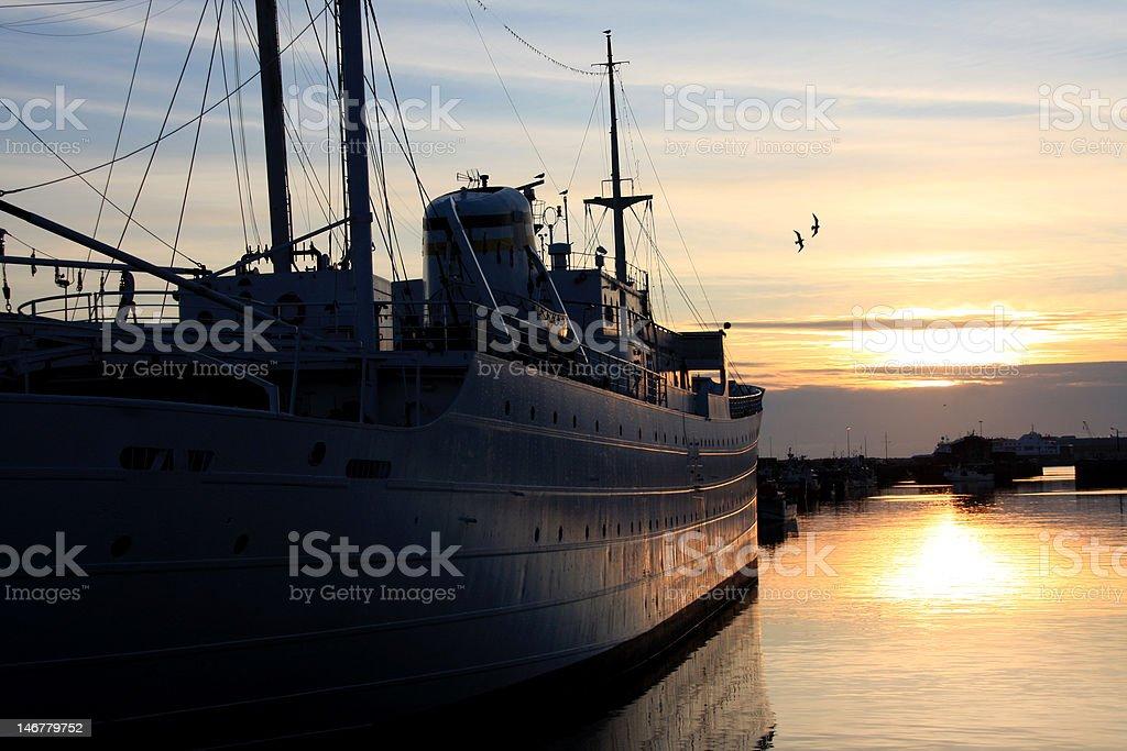Viana do Castelo Harbor stock photo