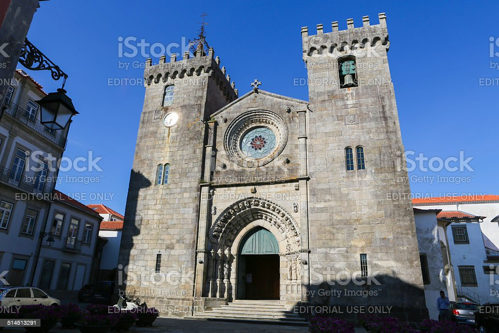 Viana do Castelo stock photo