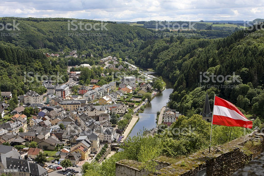 Vianden in Luxembourg royalty-free stock photo