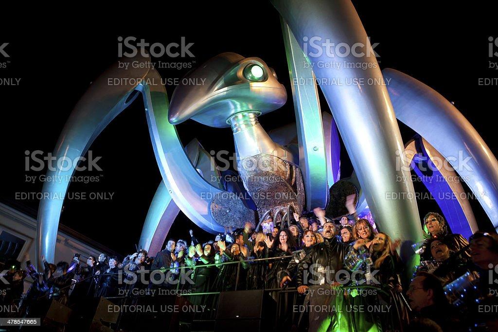 Viareggio Carnival 2014 stock photo
