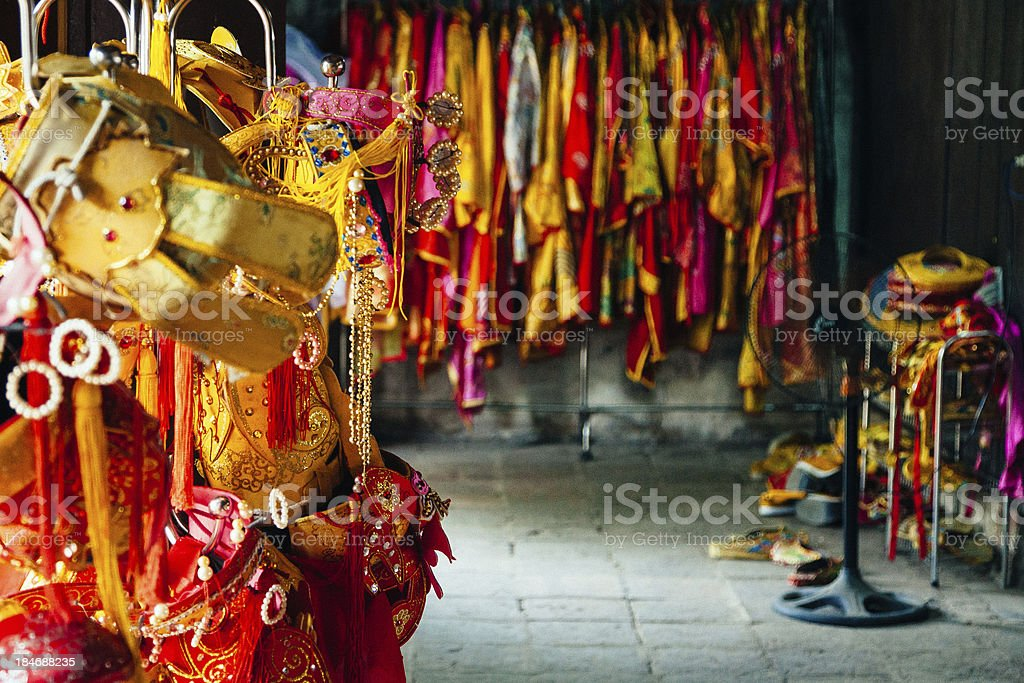 Viatnamese costumes stock photo