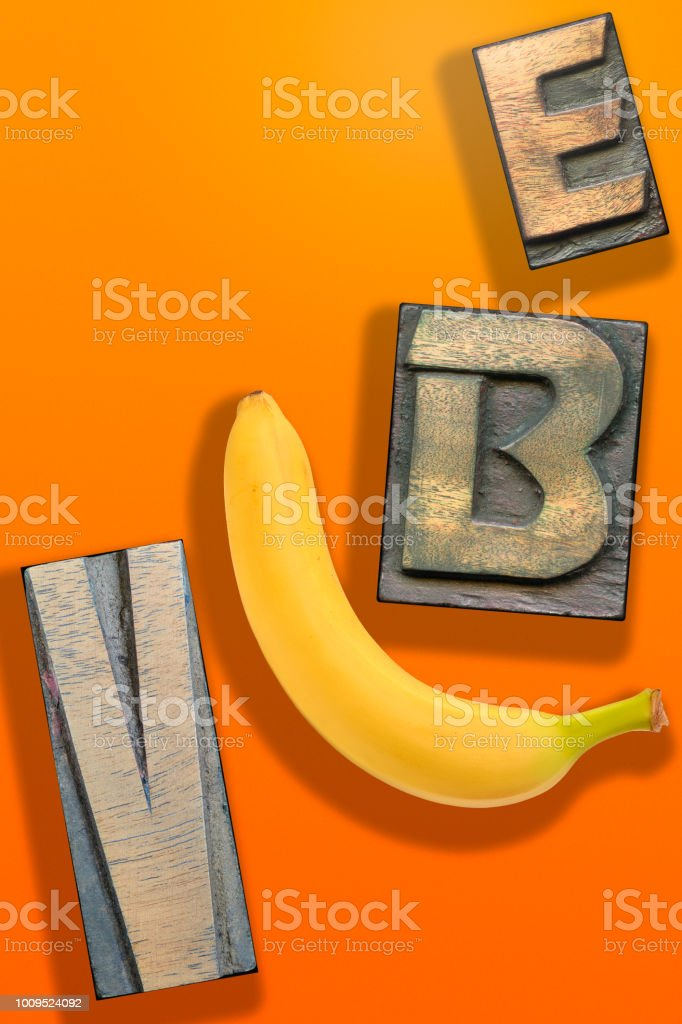 vibe WORD orange stock photo