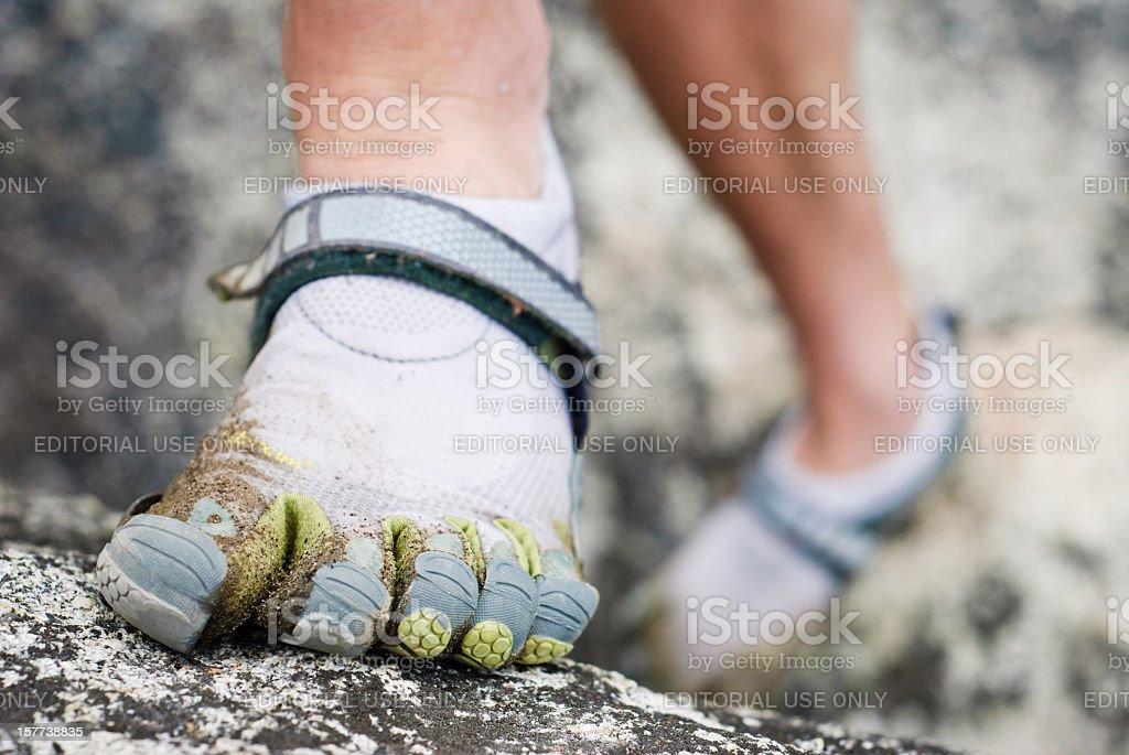 Vibram Five Finger Shoes stock photo