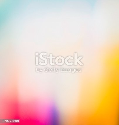 Vibrant abstract background created in camera