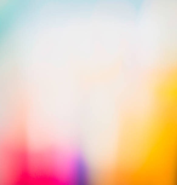 Vibrant abstract background created in camera stock photo