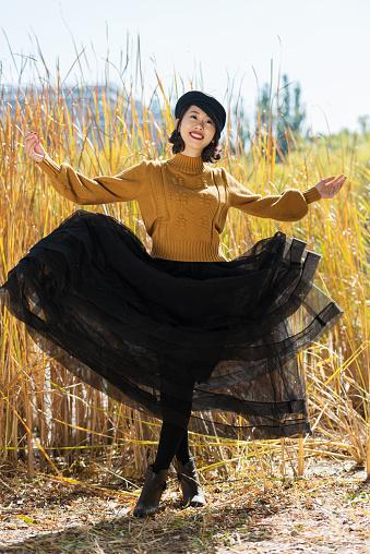Vibrant and lovely Asian girl