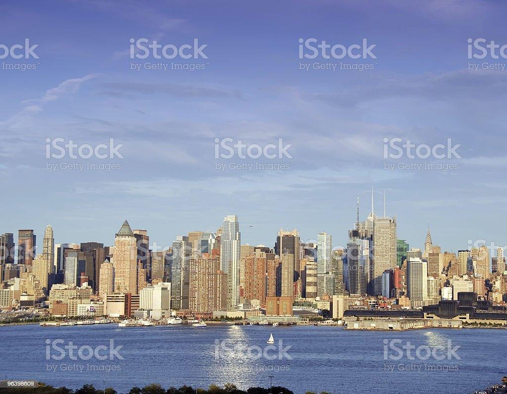vibrant cityscape capture of nyc - Royalty-free Cityscape Stock Photo