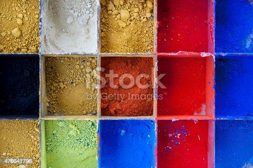 475744392 istock photo Vibrant Color Pigments 476641796