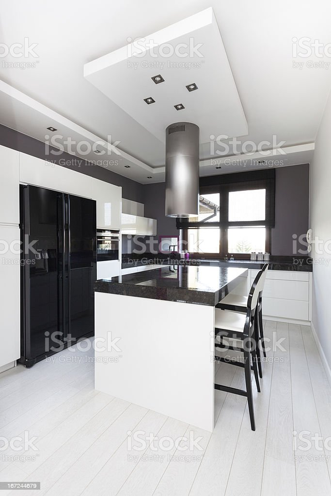Vibrant cottage - kitchen royalty-free stock photo