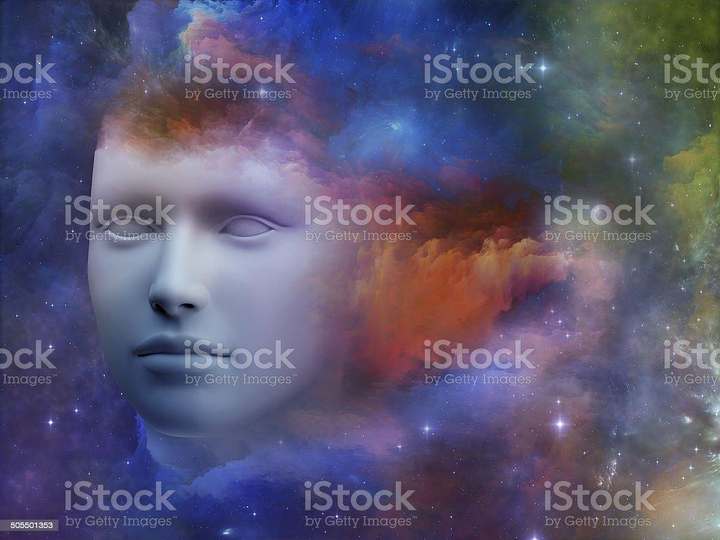 Vibrant Mind stock photo