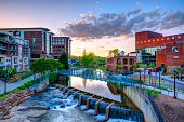 istock A vibrant picture of Greenville, South Carolina 188055544