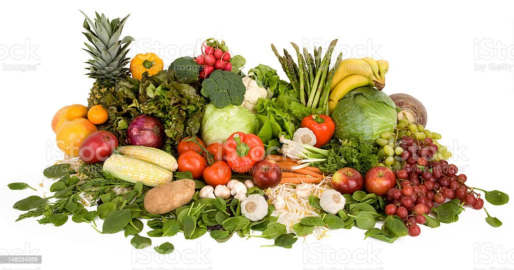 Vibrant Produce royalty-free stock photo