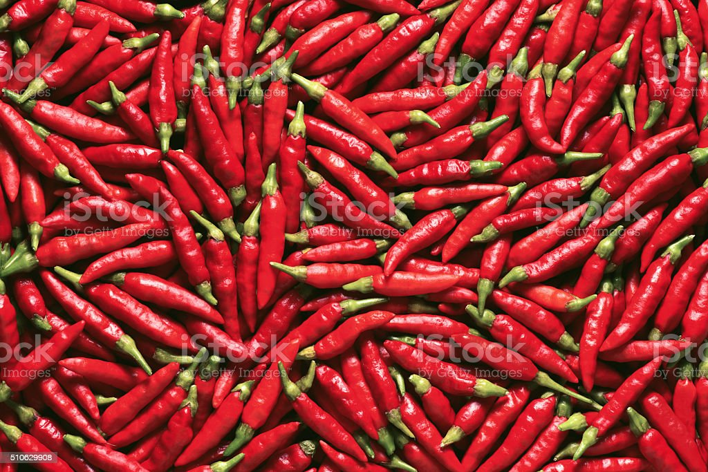 Vibrant Red Pepper stock photo
