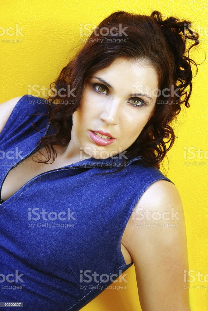 Vibrant Woman royalty-free stock photo