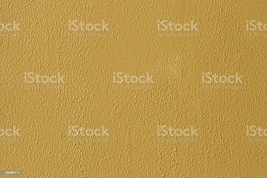 Vibrant Yellow Painted Wall stock photo