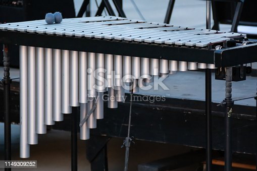 Vibraphone: mallet percussion instrument.