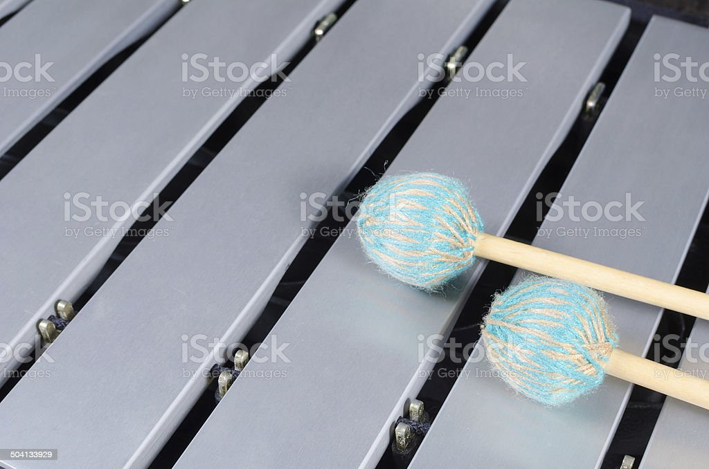 Vibraphone stock photo