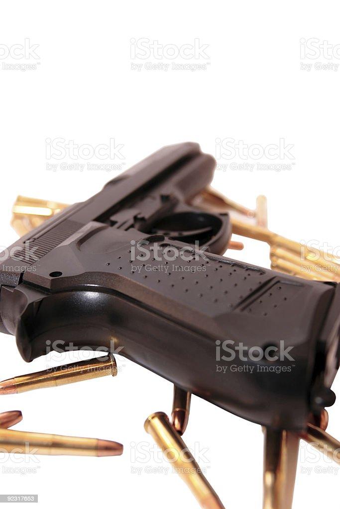 vice gun royalty-free stock photo