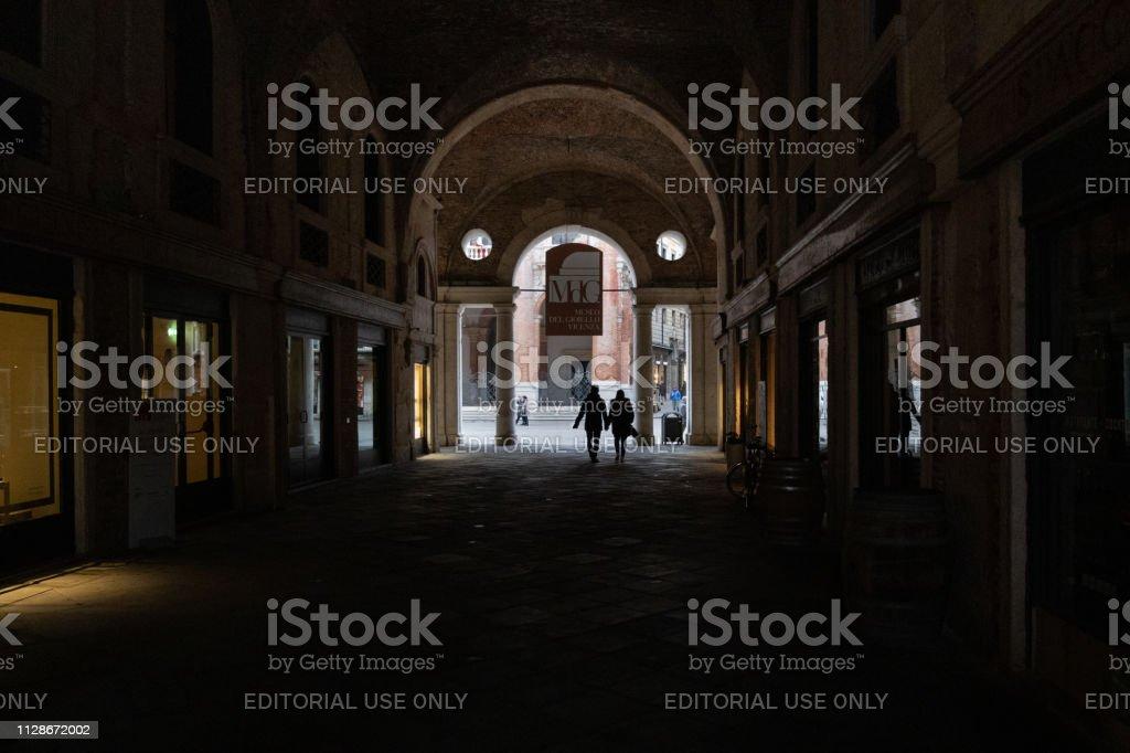 Vicenza - Basilica palladiana - foto stock