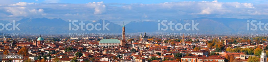Vicenza City in Italy - foto stock