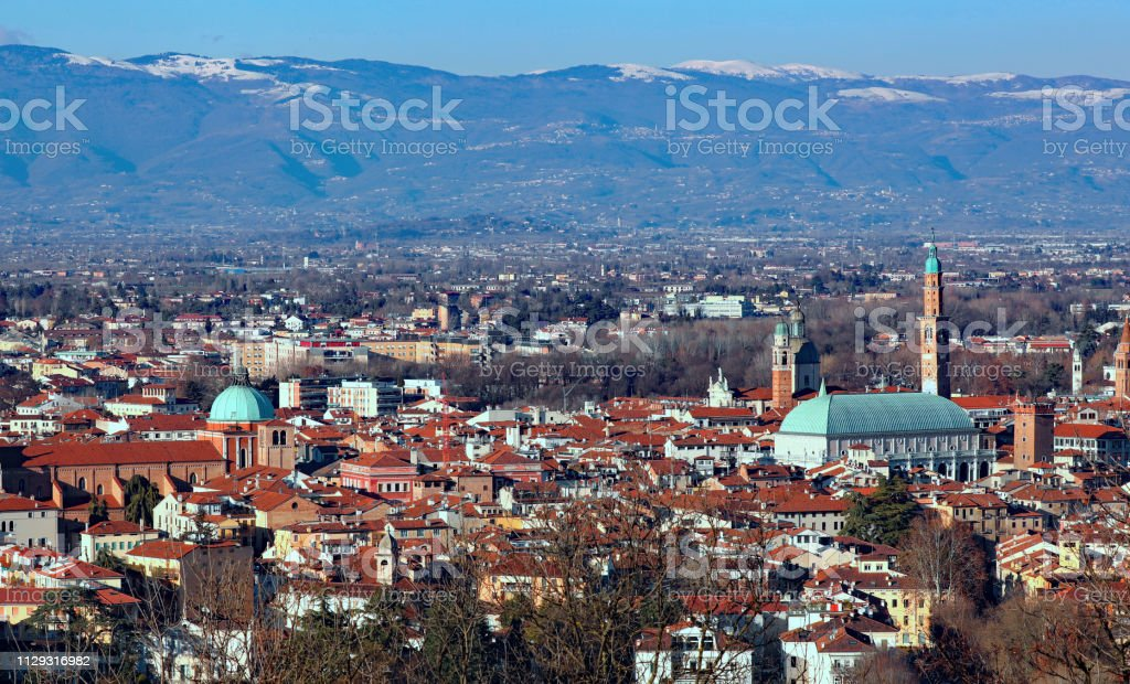 Vicenza is a city in Italy in the Veneto region - foto stock