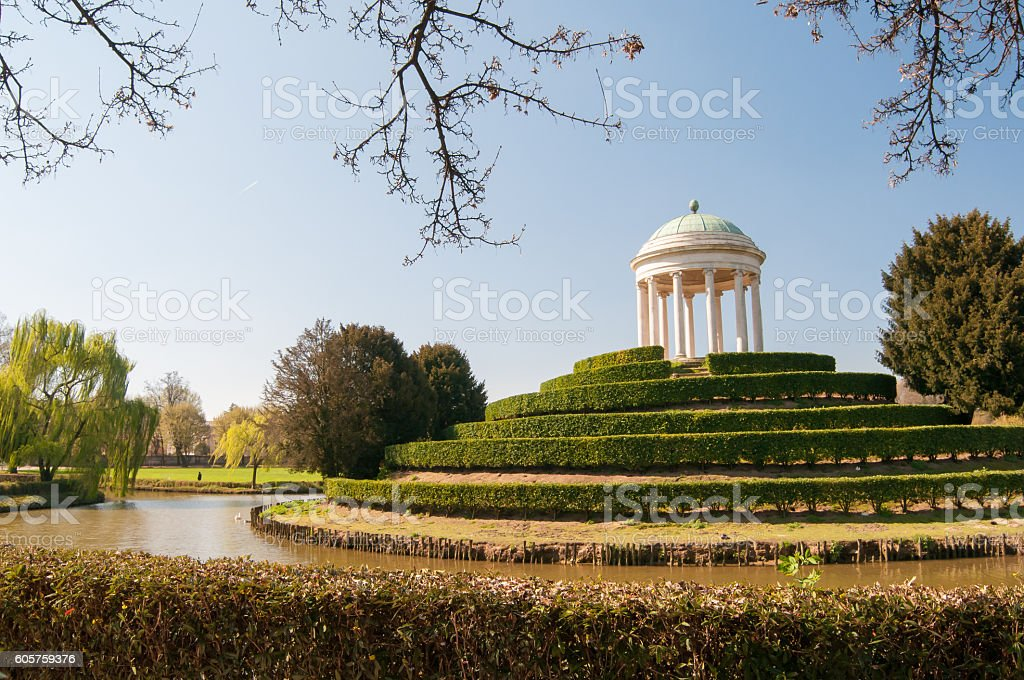 Vicenza parks stock photo