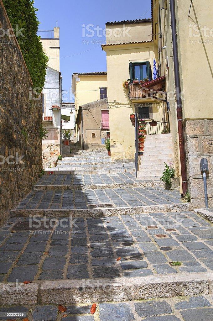 Vico Gradelle. Melfi. Basilicata. Italy. royalty-free stock photo