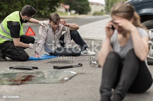 istock Victims of car accident 587939586
