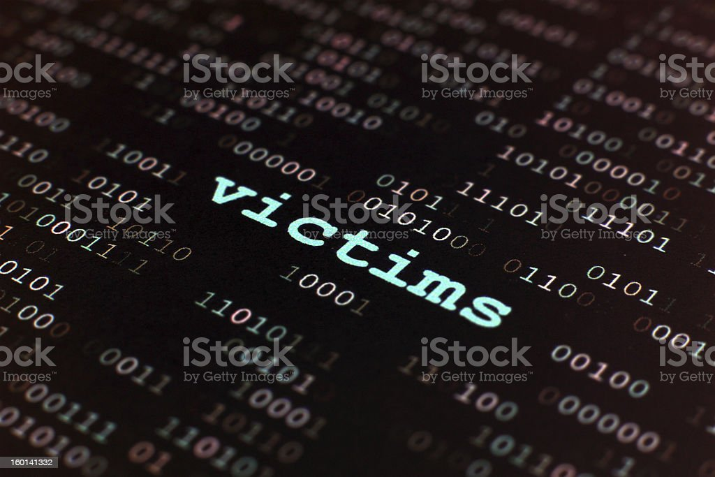 Victims royalty-free stock photo
