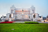 Victor Emmanuel II monument in Rome, Italy