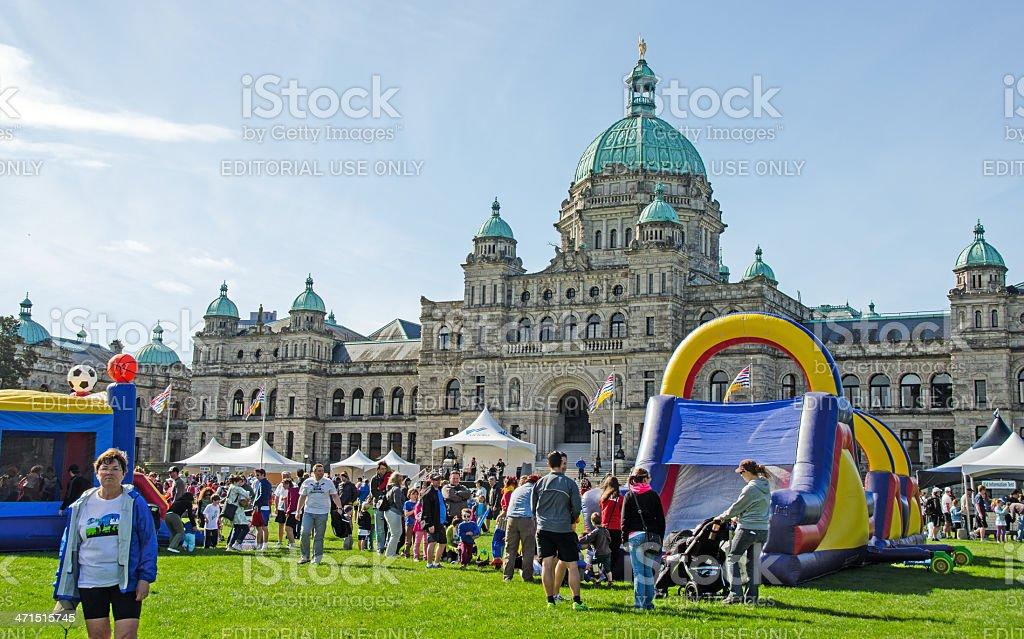 Victoria 2013 Marathon Activities royalty-free stock photo