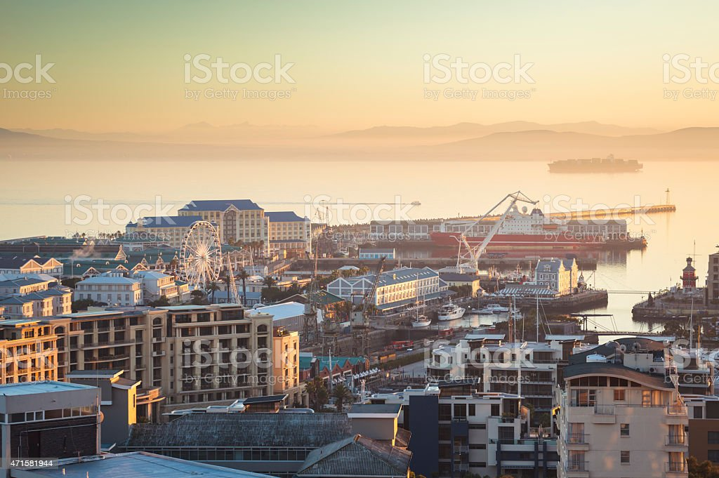 Victoria and Alfred Waterfront, Cape Tonn (South Africa) stock photo