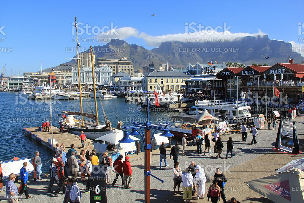 Victoria and Alfred Waterfront, Cape Town stock photo
