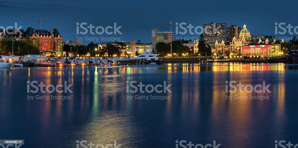 Victoria BC Canada stock photo