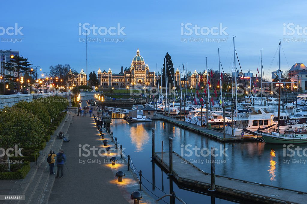 Victoria, British Columbia, Canada stock photo