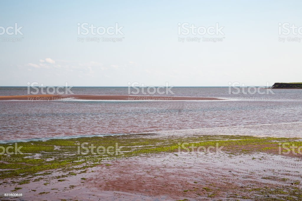 Victoria by Sea on Prince Edward Island in Canada stock photo