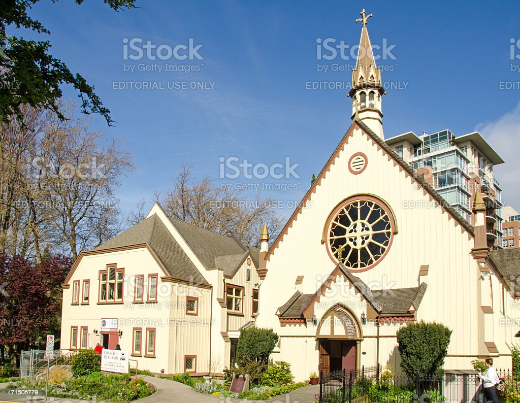 Victoria Church of Our Lord royalty-free stock photo