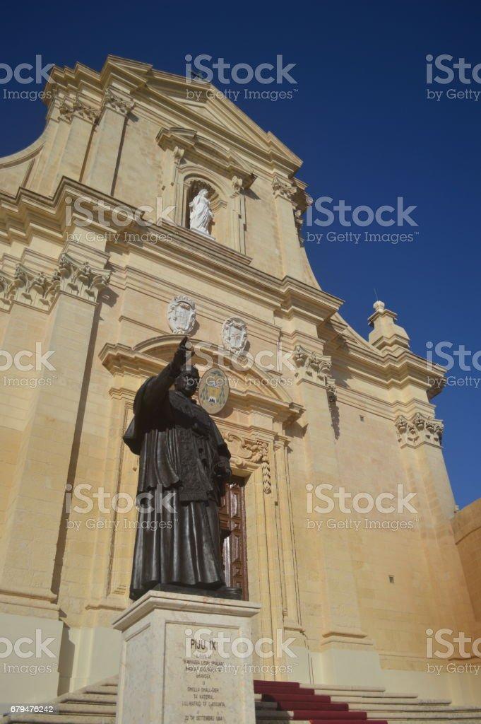 維多利亞西塔與雕像 免版稅 stock photo