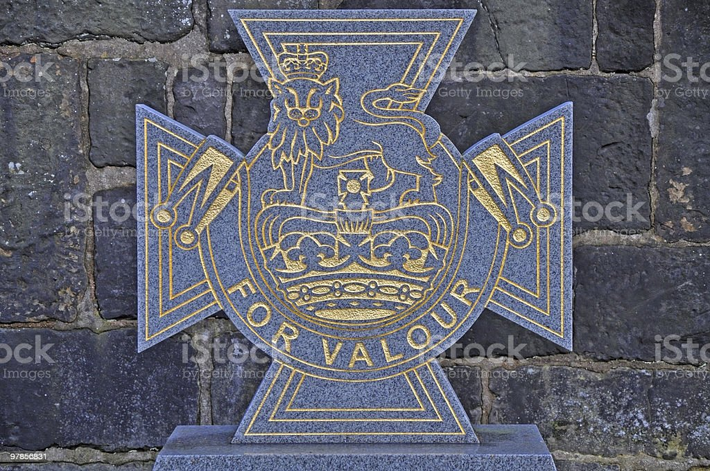 Victoria Cross 'For Valour' stock photo