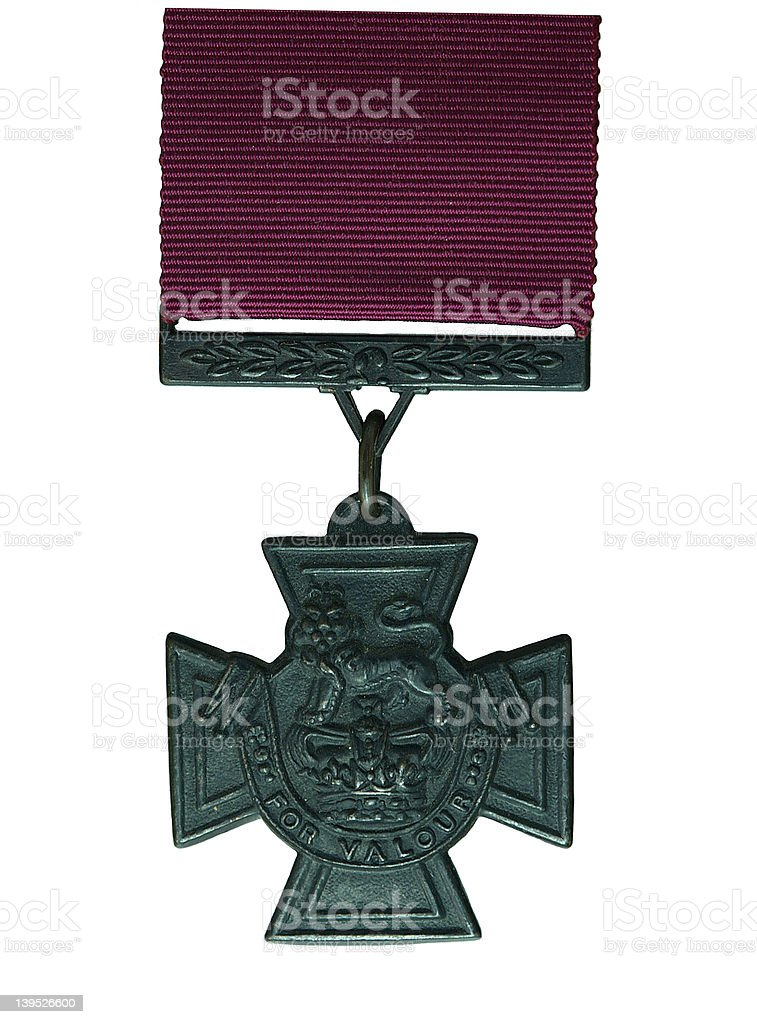 Victoria cross medal stock photo