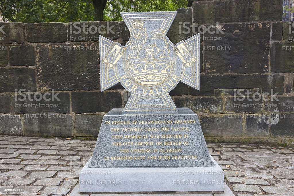 Victoria Cross War Memorial stock photo