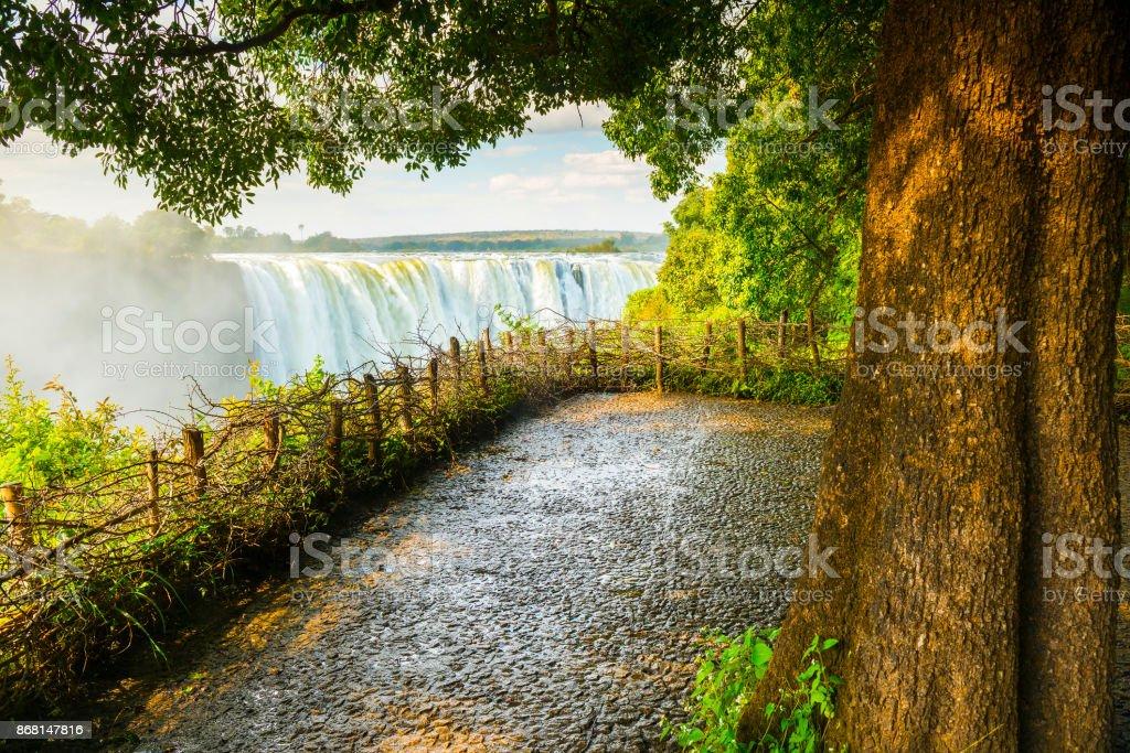 Victoria Falls Africa stock photo