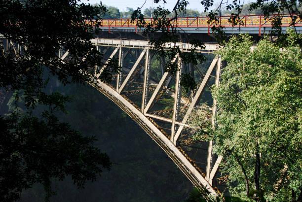 Victoria Falls Bridge stock photo