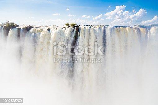Victoria Falls from Zambia