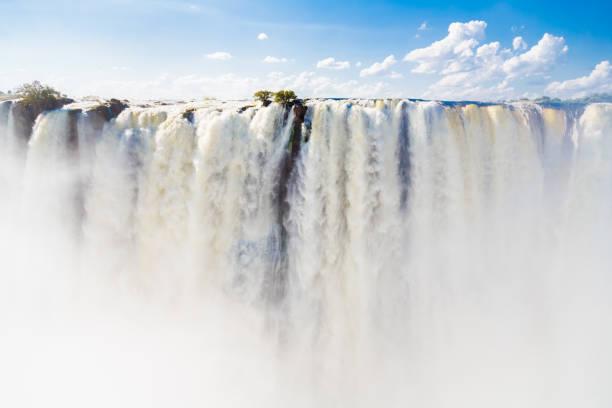 victoria falls da zâmbia - cascata - fotografias e filmes do acervo