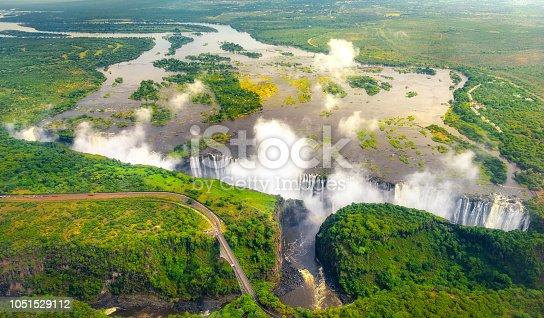 istock Victoria Falls in Zimbabwe 1051529112