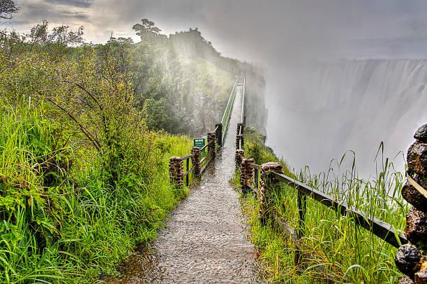 victoria falls - sambia stock-fotos und bilder